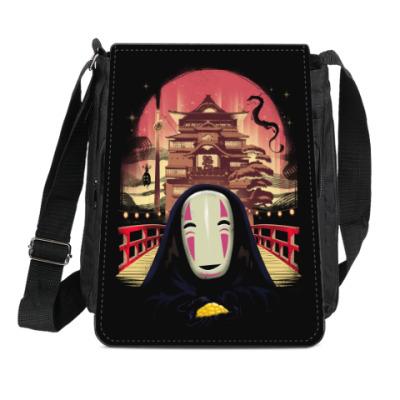 Сумка-планшет Унесенные призраками Миядзаки