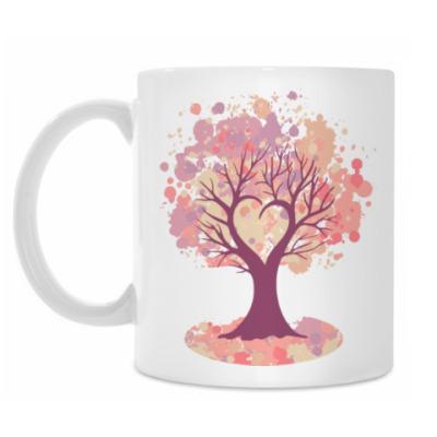Кружка Дерево-сердце