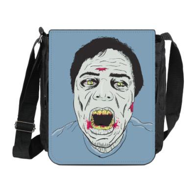 Сумка на плечо (мини-планшет) Зомби