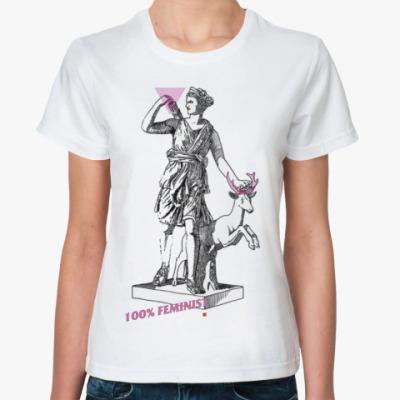 Классическая футболка Артемида