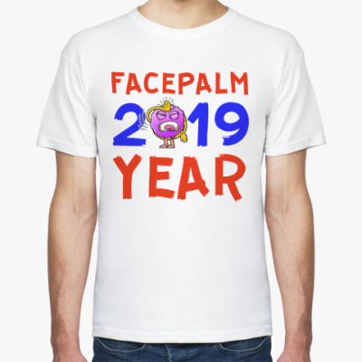 Футболка FACEPALM YEAR 2019