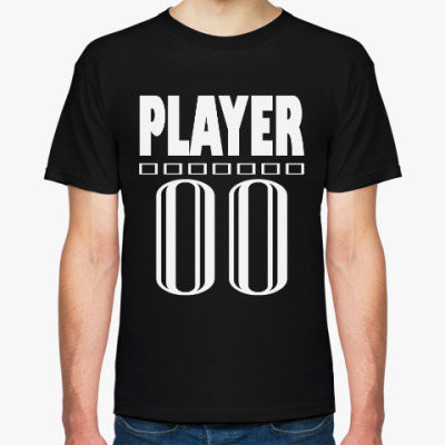 Футболка player 00
