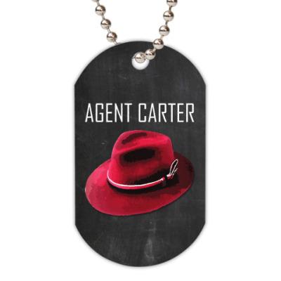 Жетон dog-tag Agent Carter