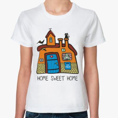Классическая футболка 'Домик'