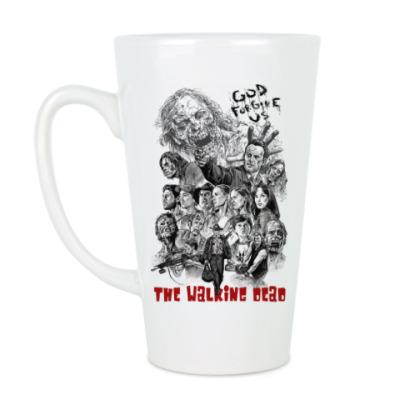 Чашка Латте The Walking Dead