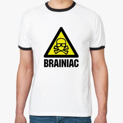 Футболка Ringer-T Brainiac