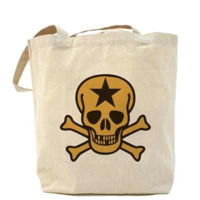 Сумка Холщовая сумка Skull
