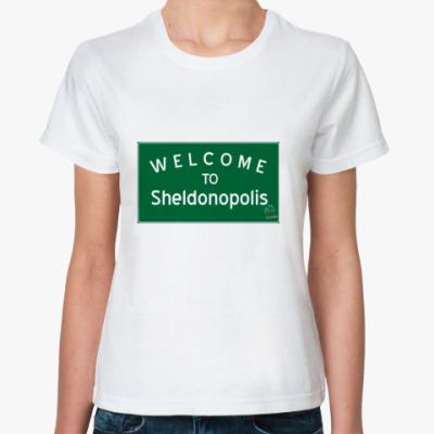 Классическая футболка Sheldonopolis
