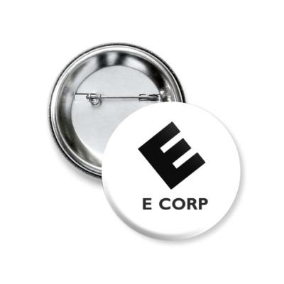 Значок 37мм E Corp
