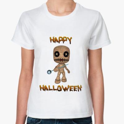Классическая футболка Хеллоуин