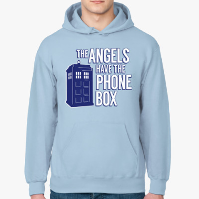 Толстовка худи The Angels Have The Phone Box
