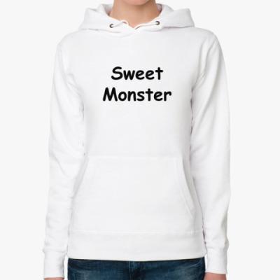 Женская толстовка худи Sweet Monster