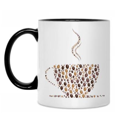 Кружка Кофе из кофейных зерен