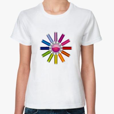Классическая футболка  флешки