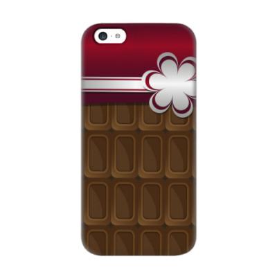 Чехол для iPhone 5c шоколадка