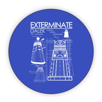Костер (подставка под кружку) Dalek plan