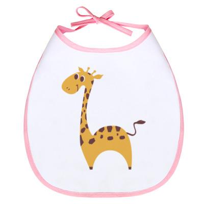 Слюнявчик Детская Baby giraffe