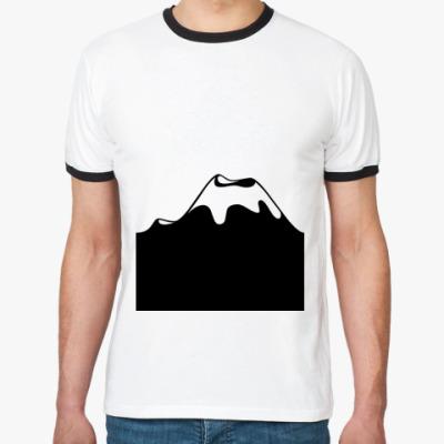 Футболка Ringer-T Горы
