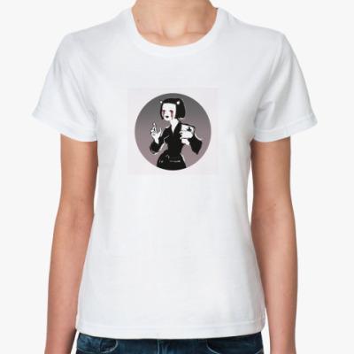 Классическая футболка Devilish Girl