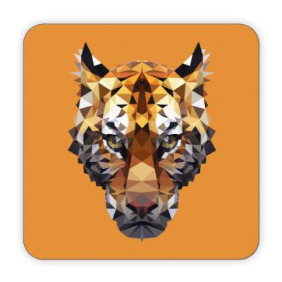 Костер (подставка под кружку) Тигр / Tiger