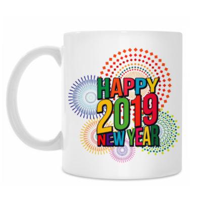 Кружка Новый год 2019