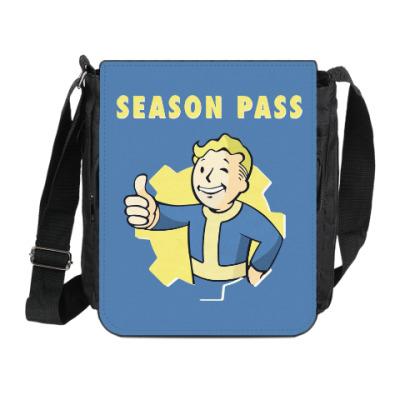 Сумка на плечо (мини-планшет) Fallout 4
