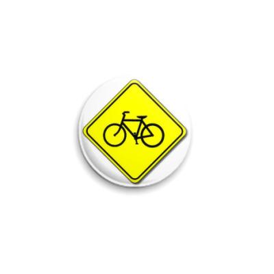 Значок 25мм Ride on bikes!