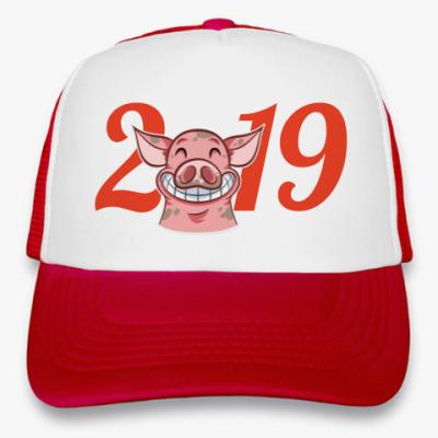 Кепка-тракер Smile Piggy 2019