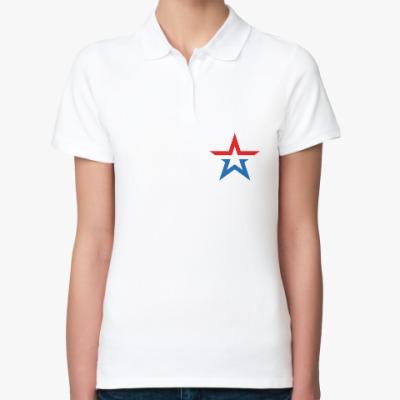 Женская рубашка поло Армия России