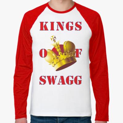 Футболка реглан с длинным рукавом KINGS OF SWAGG