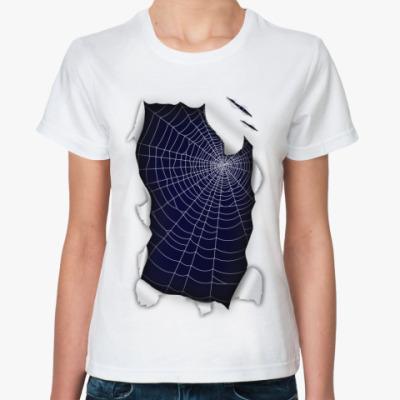 Классическая футболка Паутина
