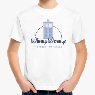 Детская футболка Wibbly Wobbly Timey Wimey