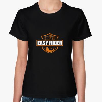 Женская футболка Easy rider