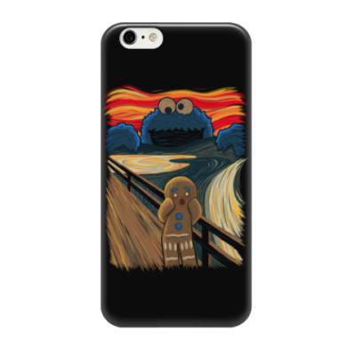 Чехол для iPhone 6/6s Cookie Monster The Scream