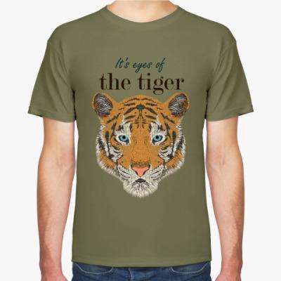 Футболка Глаза рыжего тигра