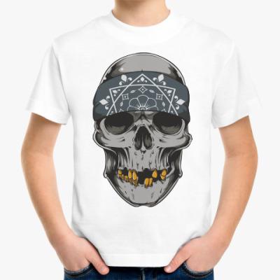 Детская футболка Череп