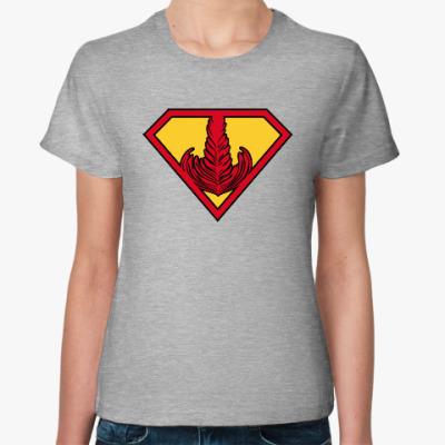 Женская футболка Супер Бариста