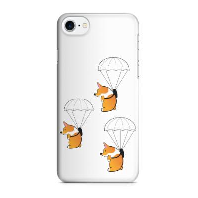 Чехол для iPhone 7/8 смешные собаки корги