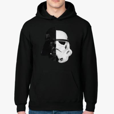 Толстовка худи Star Wars: Вейдер и Штурмовик