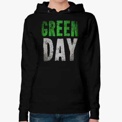 Женская толстовка худи Green Day