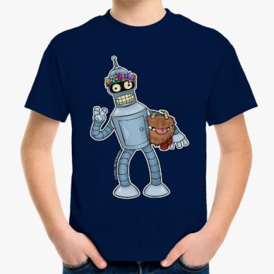 "Детская футболка Детская футболка ""Bender DST"""