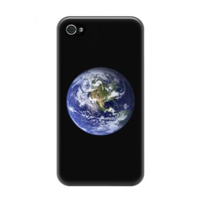 Чехол для iPhone 4/4s Земля