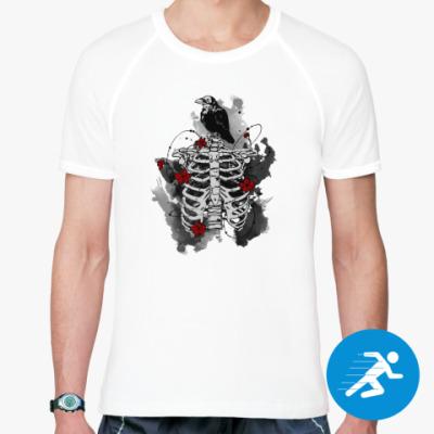 Спортивная футболка Черный ворон