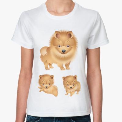 Классическая футболка Пёсики