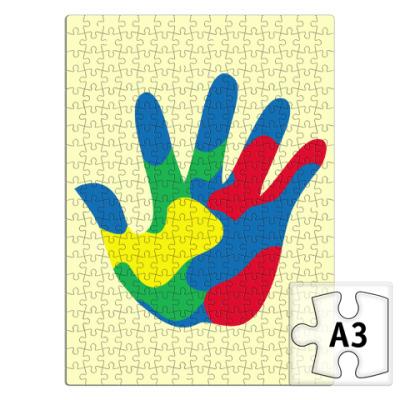 Пазл Отпечаток Руки