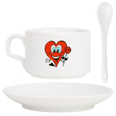 Кофейный набор Сердце