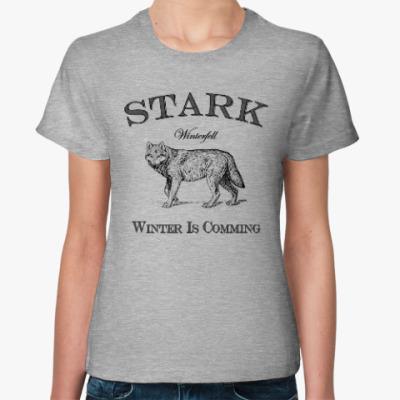 Женская футболка Stark