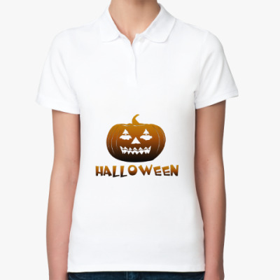 Женская рубашка поло Halloveen