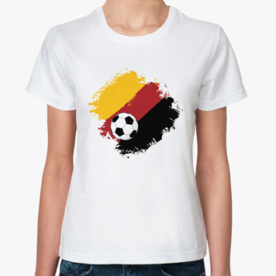 Классическая футболка Немецкий футбол