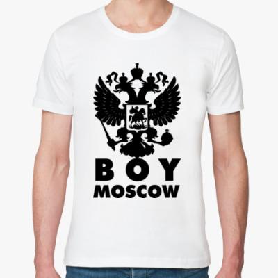 Футболка из органик-хлопка BOY MOSCOW